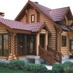 Деревянный дом – экологичное и уютное жилье