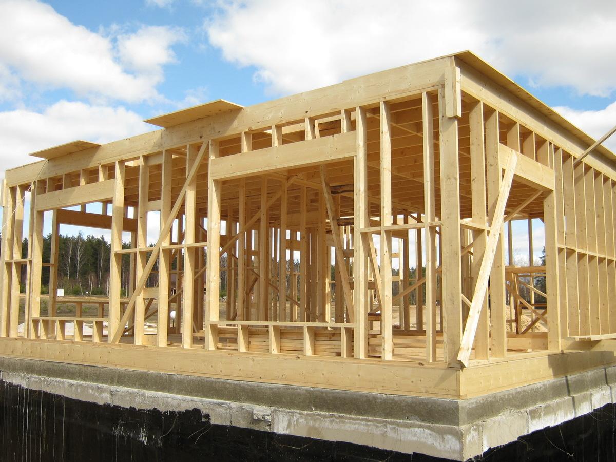 Строительство каркасного дома особенности и преимущества