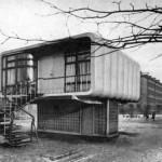 Экспериментальный пластмассовый дом в Ленинграде