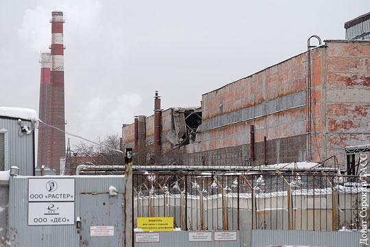 В обрушении крыши на оборонном заводе подозревается снег