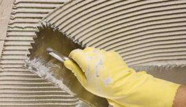 Как выбрать клей для монтирования плитки