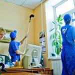Услуги предоставляемые клининговыми компаниями