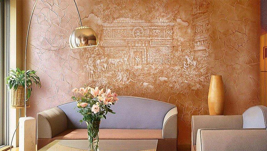Декоративная отделка стен материалы и советы дизайнеров
