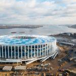 Завершен монтаж кровли на строящемся стадионе «Нижний Новгород»