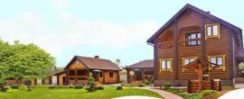 Деревянный дом прост в уходе и не требует доработки