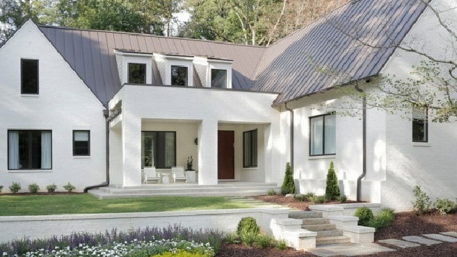 Белый керамический кирпич для отделки фасадов