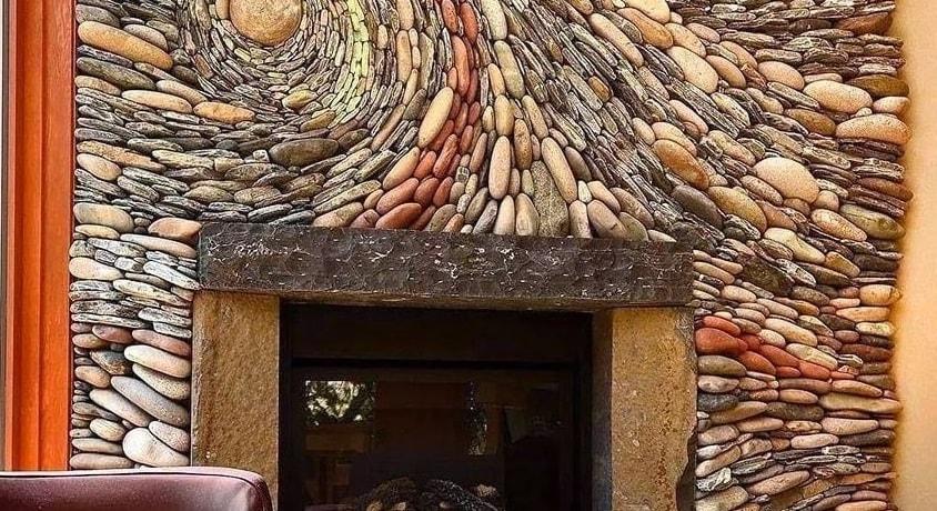Использование природного камня в интерьере