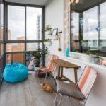 Выбор остекления и отделки для балкона и лоджии