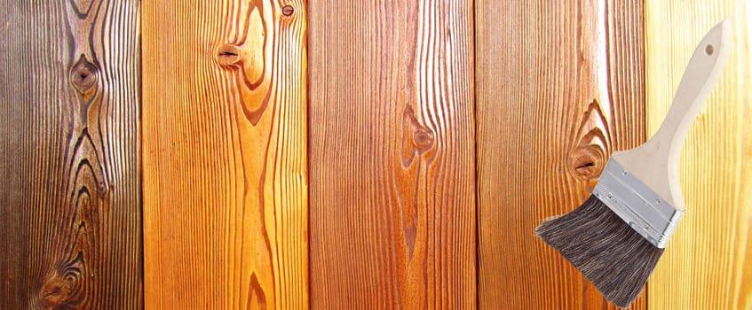 цвет краски для деревянного дома