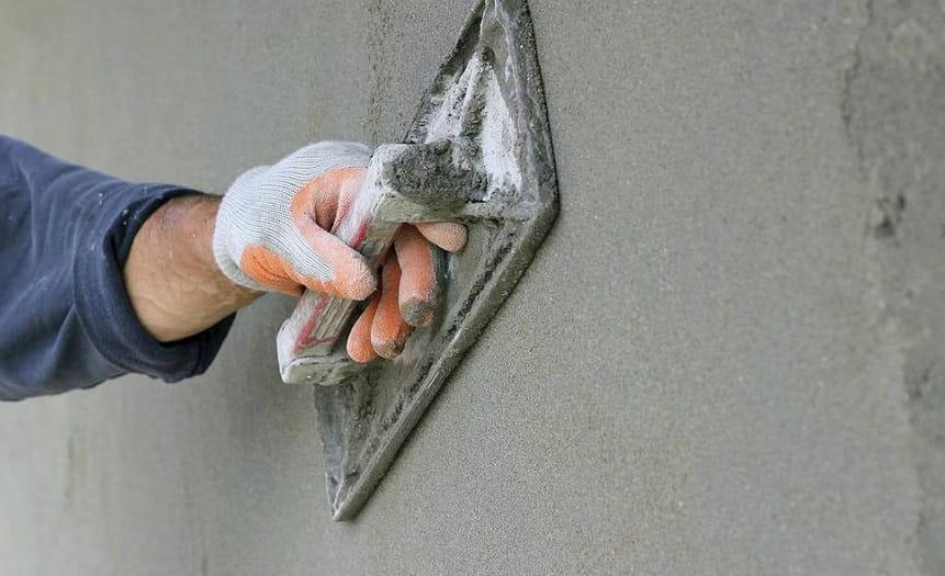 Цементная штукатурка стен