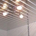 Реечный потолок для ванной: как выбрать