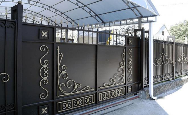 виды откатных ворот