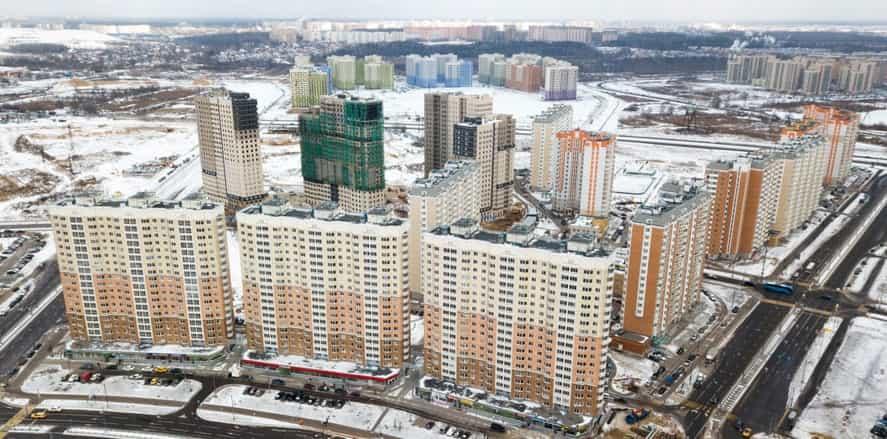 новостройки в России